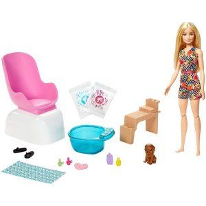 Игровой набор Барби для маникюра и педикюра Mani-Pedi Spa Barbie GHN07