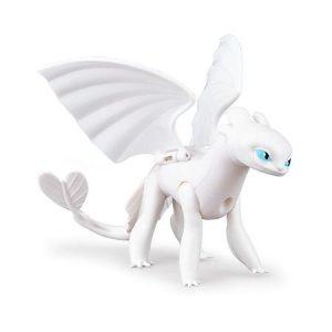 Игрушка Dragons Белая Фурия с подвижными крыльями Spin Master