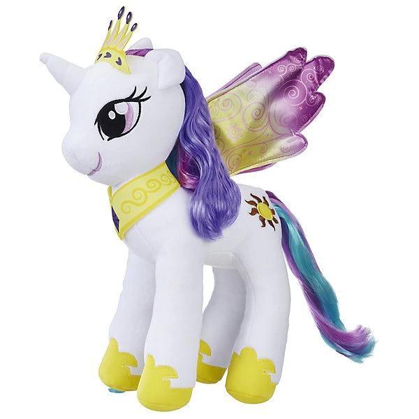 Мягкая игрушка My little Pony Большие пони Принцесса Селестия 30 см