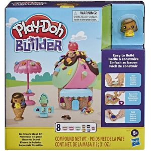 Play-Doh Builder Стенд для мороженого E9040 Лепим и Строим Hasbro