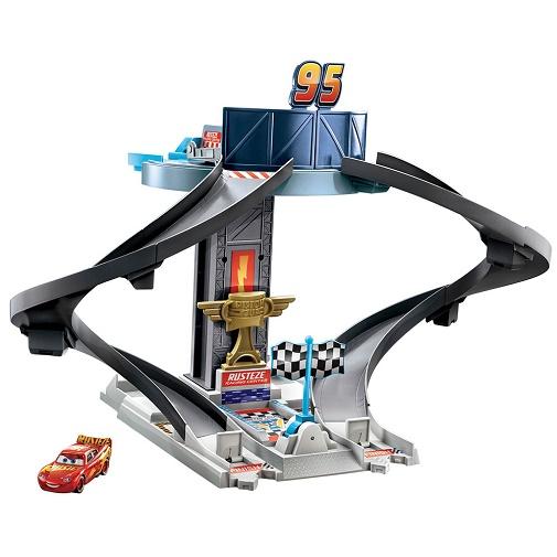 Игровой набор Тачки Башня для гонок Ржавей-ка Cars