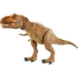 Mattel Фигурка динозавра Jurassic World Рычащий Ти-Рекс GJT60