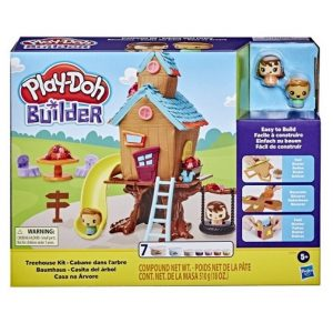 Play-Doh Builder Домик на дереве E9048 Лепим и Строим Hasbro
