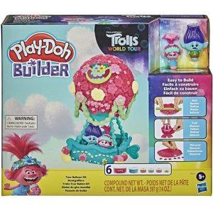 Play-Doh Builder Тролли Воздушный шар F0450 Лепим и Строим Hasbro