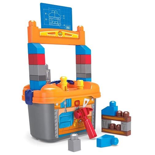 Конструктор Рабочее место маленького строителя Mega Bloks GNT92