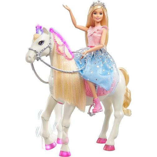 Кукла Барби на коне (единороге) Приключения принцессы Barbie GML79