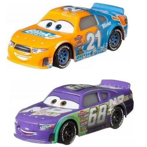 Набор Cars из 2 базовых машинок Тачки Паркер Питстоп и Скоростная Комета GKB74