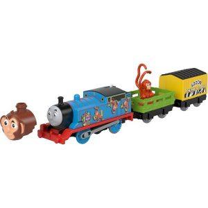 Паровозик моторизированный Томас-обезьянка Thomas & Friends