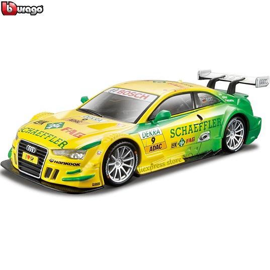 Bburago Машинка ралли Audi A5 DTM №9 Mike Rockenfeller металл 1:32