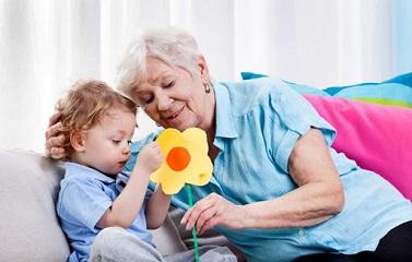 Если с ребенком сидит бабушка (основные моменты)