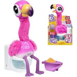 Интерактивная игрушка Фламинго Gotta Go Flamingo Little Live Pets 26222