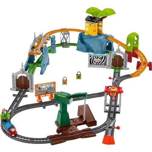 Набор Трек-мастер Парк с животными - приключения обезьянок Thomas & Friends GLK81