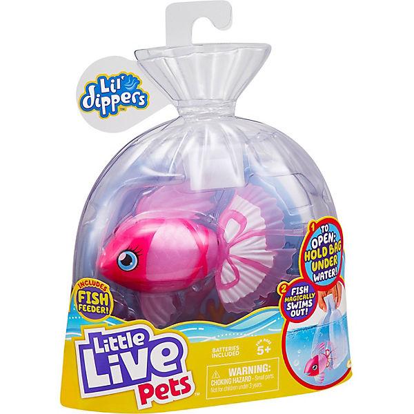 Волшебная плавающая рыбка Little live pets Lil' Dippers Moose
