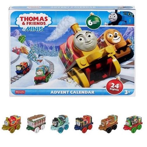 Адвент-календарь Паровозик Томас 24 minis Thomas & Friends