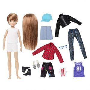 Набор Creatable World №1 с куклой Рыжие прямые волосы Меняем образы