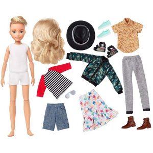 Набор Creatable World №5 с куклой Светлые волнистые волосы Меняем образы