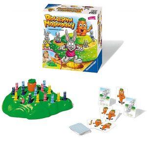 Настольная игра Выдерни морковку для всей семьи Ravensburger