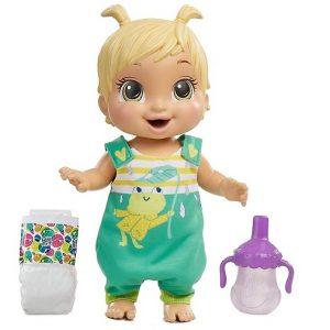 Прыгающая кукла пупс Baby Alive Gotta Bounce Hasbro E9427