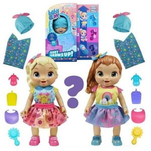 Растущая кукла пупс Baby Alive Baby Grows Up Hasbro E8199