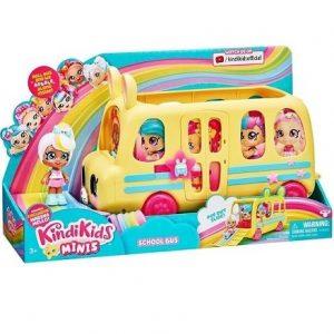 Школьный автобус с мини куклой Kindi Kids Minis Moose