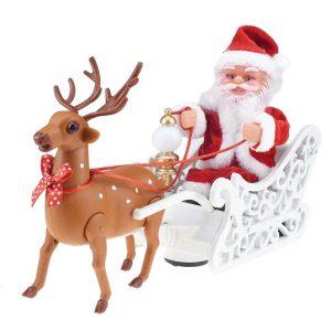Сани Деда Мороза (Санта-Клауса) игрушечные Christmas Decorations
