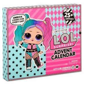Адвент календарь ЛОЛ с куклой-сюрпризом и аксессуарами L.O.L. Surprise