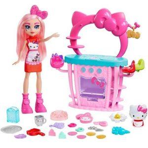 Игровой набор Кухня с куклой Hello Kitty and Friends So-Delish Kitchen