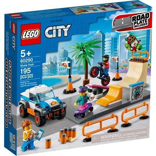 LEGO City 60290 Конструктор Скейт-парк Skate Park
