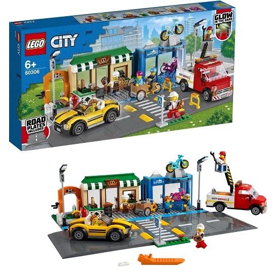 LEGO City 60306 Конструктор Торговая улица Shopping Street