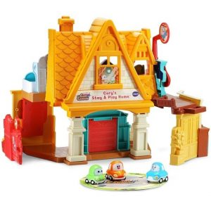 Набор Домик для машинок Кори Карсон Cory's Stay & Play Home Vtech