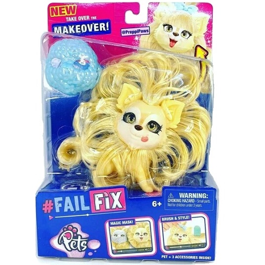 Питомец куклы FailFix Pets Kawaii со съемным лицом Moose Toys