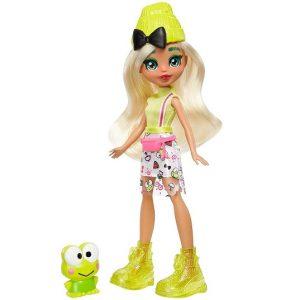 Кукла Дашлин с лягушенком Кероппи Hello Kitty 25 см GWW99