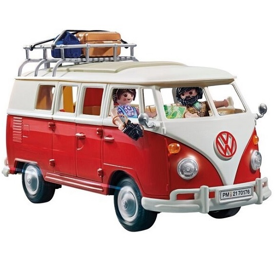 Машина-кемпер Булли Volkswagen T1 Camper Van Playmobil 70176