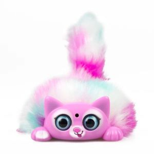 Интерактивная игрушка Fluffy Kitties котенок Lili Tiny Furries 83689-6