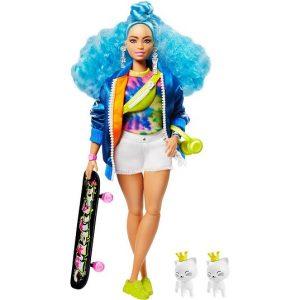 Кукла Барби Экстра с голубыми волосами EXTRA Barbie GRN30