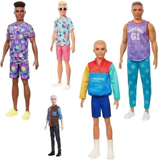 """Кукла Кен """"Игра с модой"""" в ассортименте Barbie Mattel"""