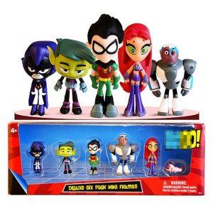 Набор игрушек Юные титаны, вперед! 5 фигурок Teen Titans Go