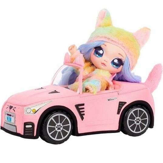 Плюшевый автомобиль для куклы Na Na Na Surprise Plush Kitty