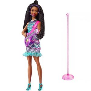 Поющая кукла Барби Бруклин Barbie Big City Big Dreams GYJ22