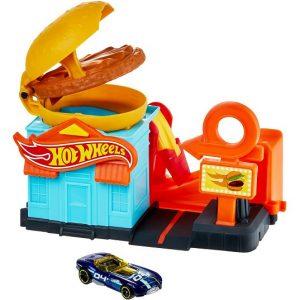 Игровой набор Закусочная Бургер City Hot Wheels FRH28