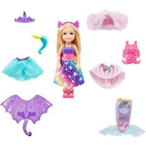 Кукла Челси Игра с переодеваниями Barbie GTF40