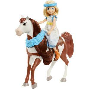 Кукла Эбигейл и лошадь Бумеранг Spirit Riding Free GXF65 Mattel