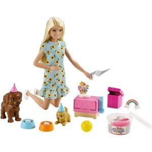 Кукла с питомцами (собачки) Вечеринка Barbie GXV75