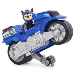 Мотоцикл с задним ходом Чейз Щенячий патруль Paw Patrol Spin Master