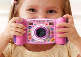 Первые видео и фотокамеры в жизни ребенка. Смотрим новинки