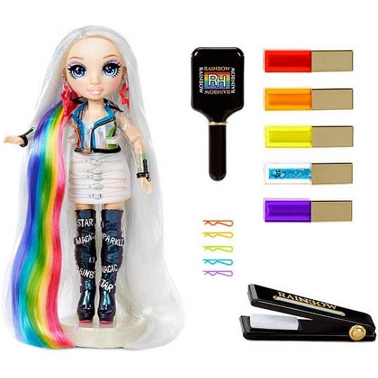 Студия Причесок с куклой Amaya Raine Rainbow High Hair Studio
