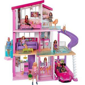 Дом мечты Барби со светом и звуками Barbie FHY73