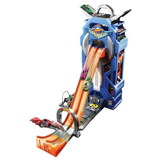 Набор Мега-гараж с машинкой Hot Wheels City FTB68