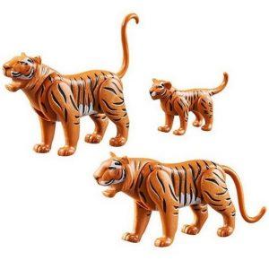 Набор фигурок Тигры с тигренком Playmobil 70359
