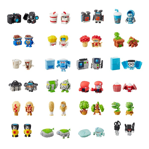 Трансформер Botbots E3487 серия 1 Hasbro Transformers